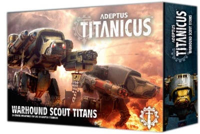 Warhound Scout Titans