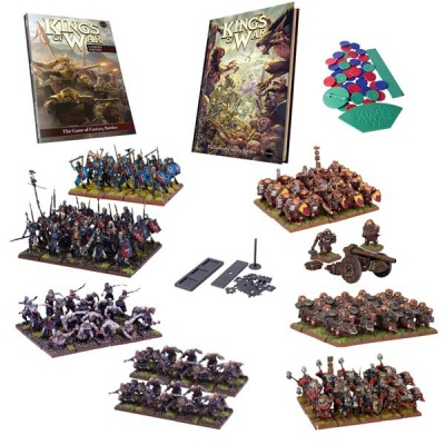 Kings of War Mega Two-player Starter Set