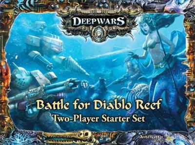 DeepWars - 2-player starter set - Battle for Diablo Reef