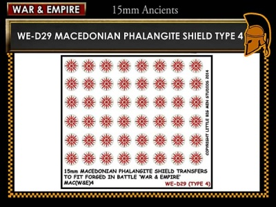 Macedonian Pikemen shield transfer  TYPE 4
