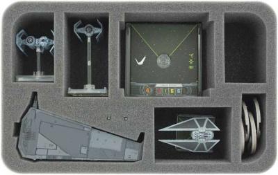 Star Wars X-WING 1 x Upsilon Class und Zubehör