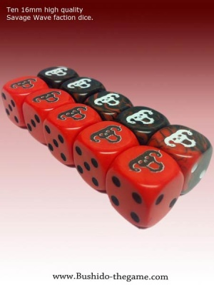 Savage Wave Faction Dice (10)