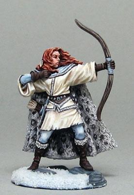 Wildling Kämpferin mit Bogen
