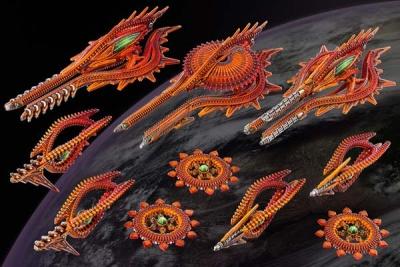 Shaltari Tribes Starter Fleet