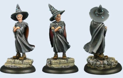 Discworld Miniature Esme Weatherwax