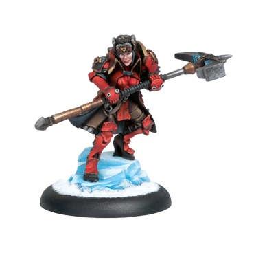Khador Epic Warcaster Forward Kommander Sorscha Kratikoff