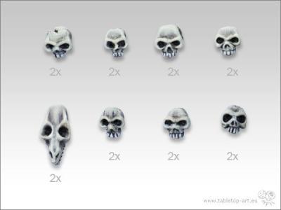 Totenschädel-Set