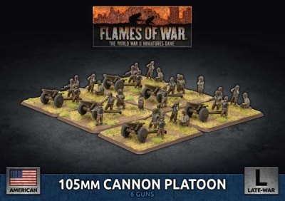 105mm Cannon Platoon (Plastic)