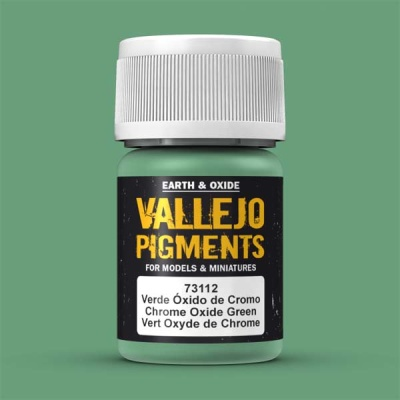 Vallejo Pigment Chrome Oxide Green 30ml