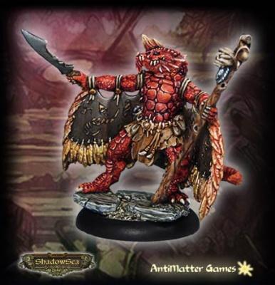 Relgor Beastcaller - Draconid Shaman