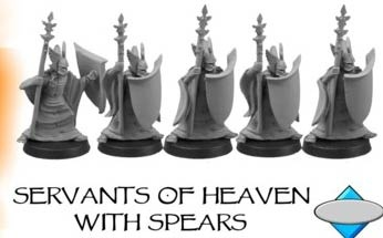 SERVANTS OF HEAVEN, WITH SPEARS (4)