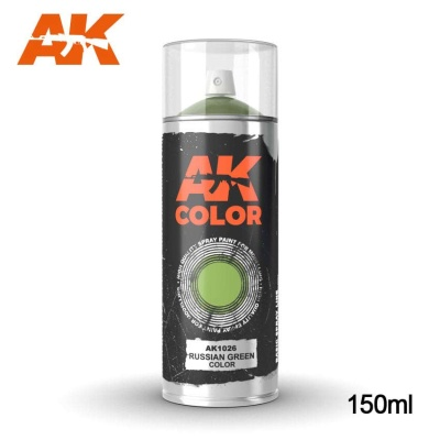 AK Russian Green Base Primer Spray (150ml)