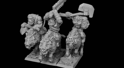 Drakskull's Menace Ghostboar Riders