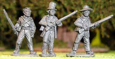 Texian Volunteers I (3)