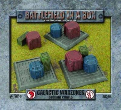Galactic Warzones - Storage Tanks