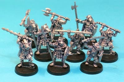 Pig-Faced Orc Warband (9)