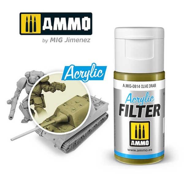 ACRYLIC FILTER Olive Drab (15ml)