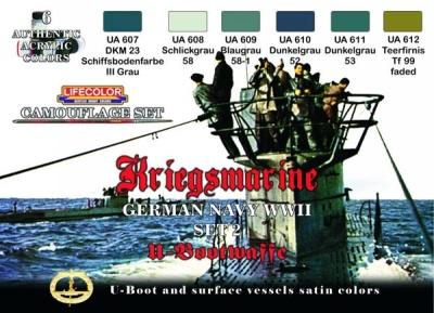 """Camouflage Set II """"Deutsche Kriegsmarine WWII"""""""