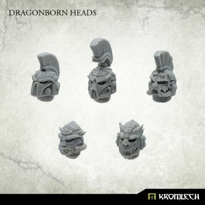 Dragonborn Heads (10)