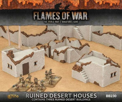 Runied Desert Houses