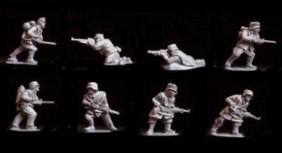 German Snipers & Flamethrowers