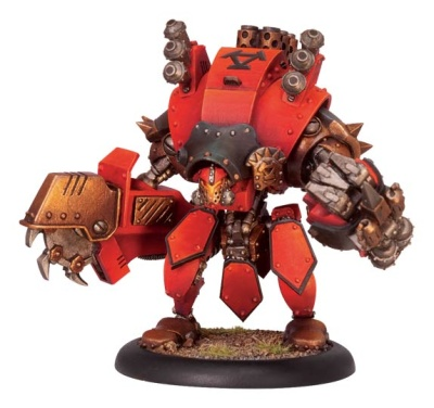 Torch Character Heavy Warjack Upgrade Kit