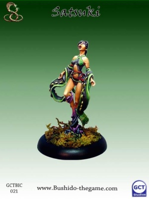 Satsuki, Orochi priestess