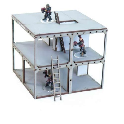 Construction Site Tower Block Booster