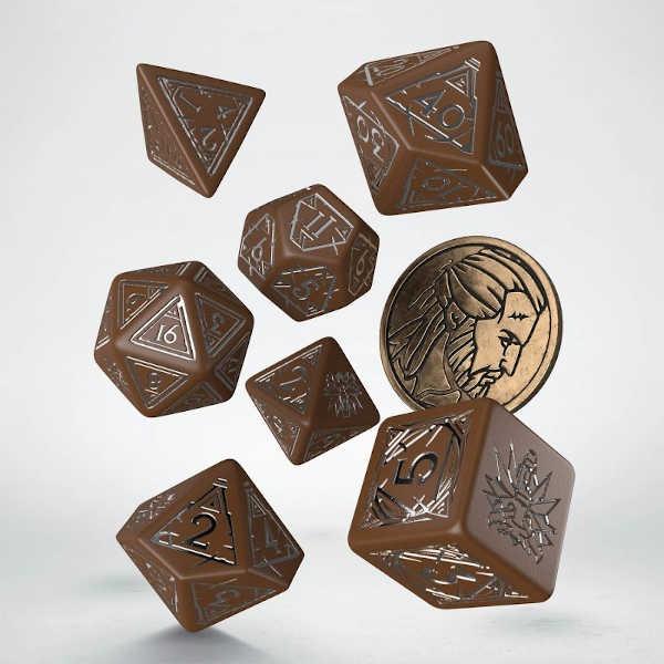 The Witcher Dice Set. Geralt  - Roach's Companion (7)