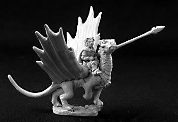 Roderic Ambermead Halfling Dragonrider