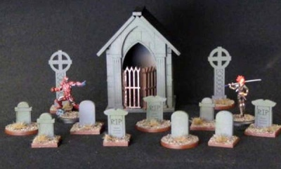 Graveyard & Cemetery