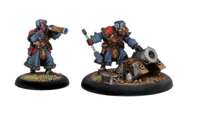 Khador Winterguard Mortar Crew