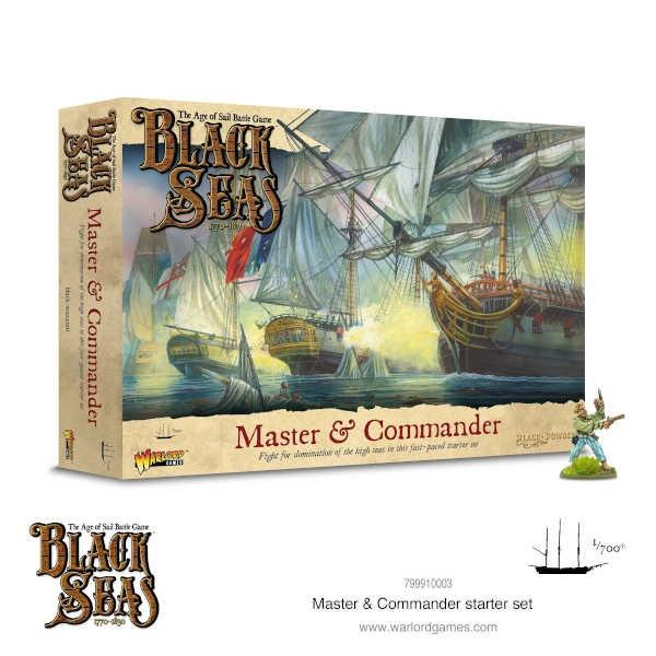 Black Seas Master & Commander Starter Set