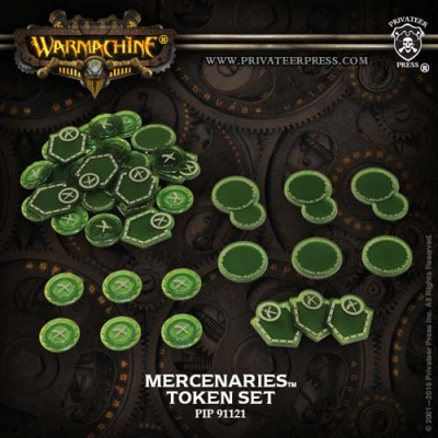 WARMACHINE Mercenaries Faction Tokens 2016