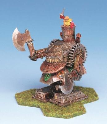 Dwarf Battle Rider w/Axes