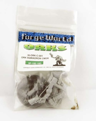 FORGEWORLD: Ork Sqwadron Commander (limited)