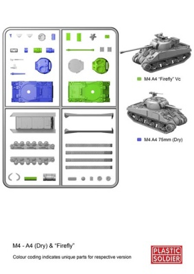 REINFORCEMENTS 15mm Sherman M4A4/Firefly (1)