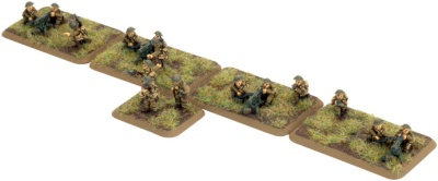 British Infanterie Machine-gun Platoon