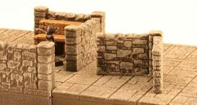 Dunkelstadt - Dungeon Element Winkel-Mauer (1)