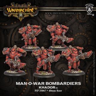 Khador Man-O-War Bombardiers (plastic)