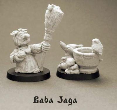 EurasiaEpos: Baba Jaga (2)