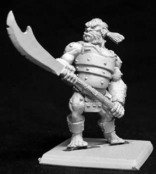 Gurm, Ogre with Pole-axe