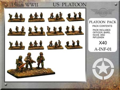 US Infantry Platoon