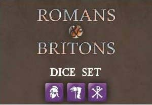 SAGA Dice - SAGA Roman & Briton Dice