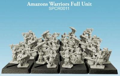 Amazons Warriors Full Unit (10mm) (32)