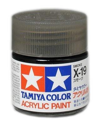 Tamiya Clear X-19 SMOKE