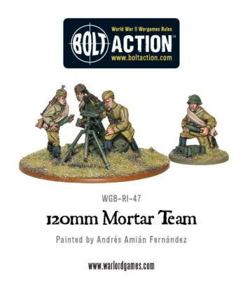 Soviet 120mm Mortar Team