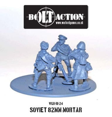 Soviet 82mm Mortar Team
