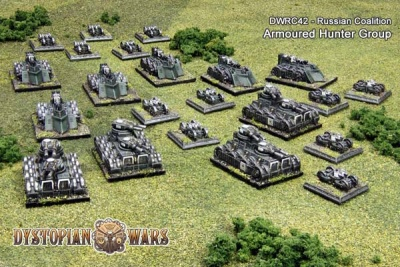 Russian Coalition Armoured Hunter Group