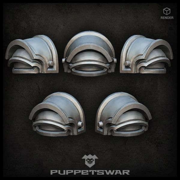 H.I. Praetorian Shoulder Pads